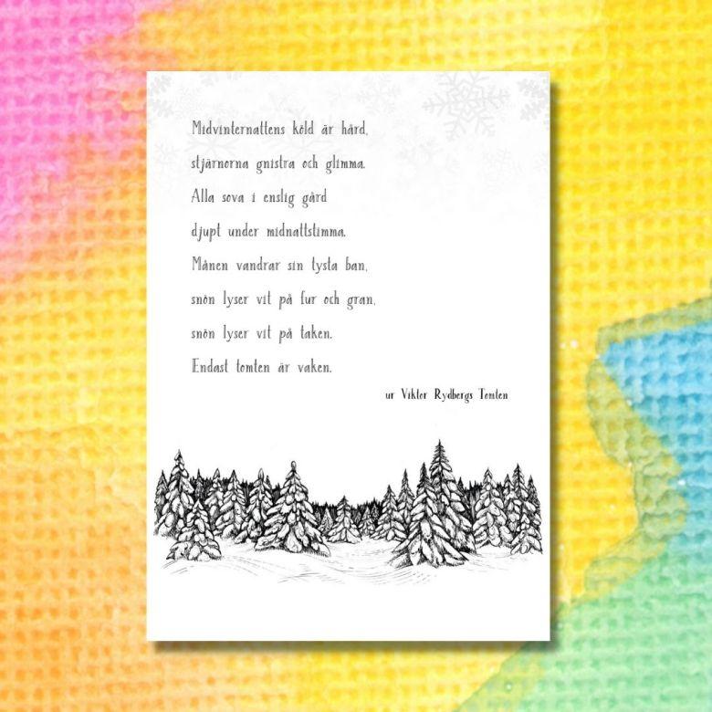dikten tomten av viktor rydberg