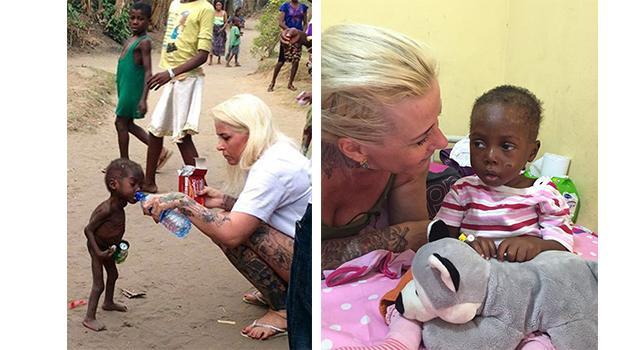 Hope il bimbo abbandonato in Nigeria salvato dalla cooperante danese torna a sorridere  San