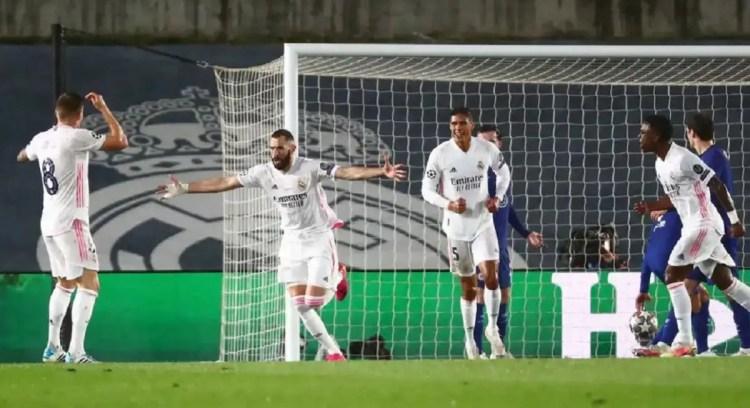 Real Madrid empató de local ante el Chelsea