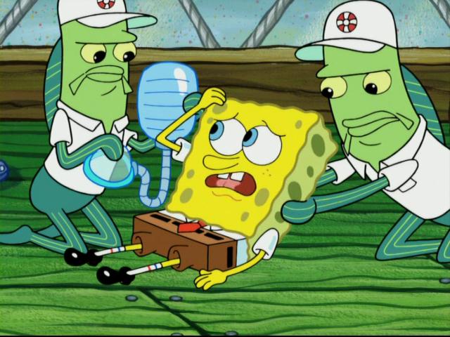 SpongeBuddy Mania SpongeBob Episode Krusty Dogs