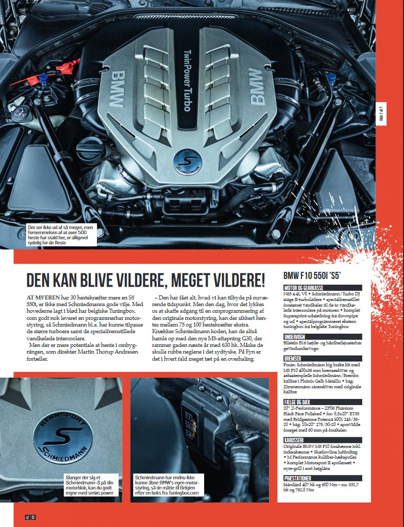 hight resolution of  schmiedmann bmw s5 f10 550i boosted article s4