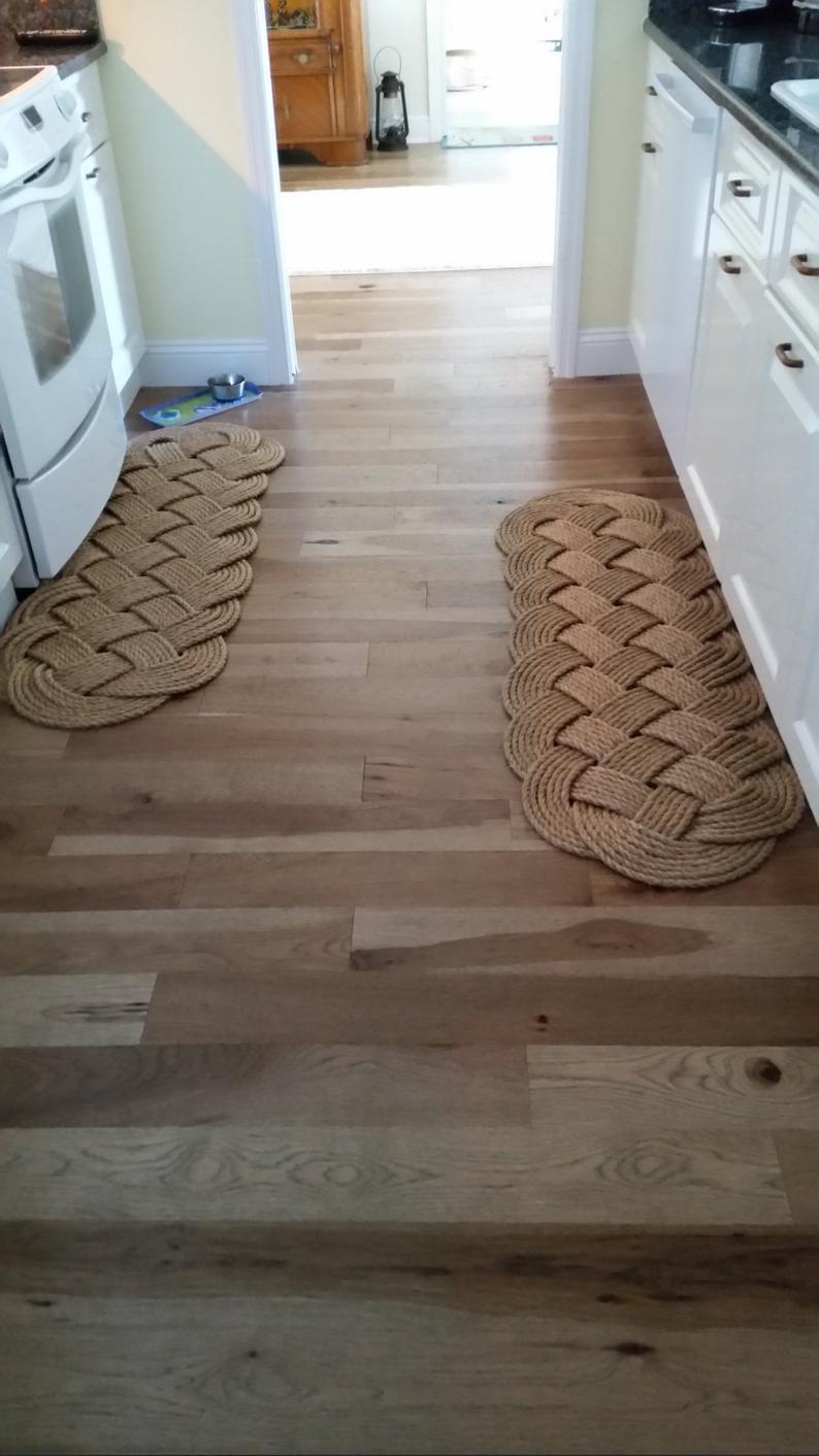 large nautical rope mat manila prolong mat nautical decor nautical patio runner 57 x 19 coastal and tropical