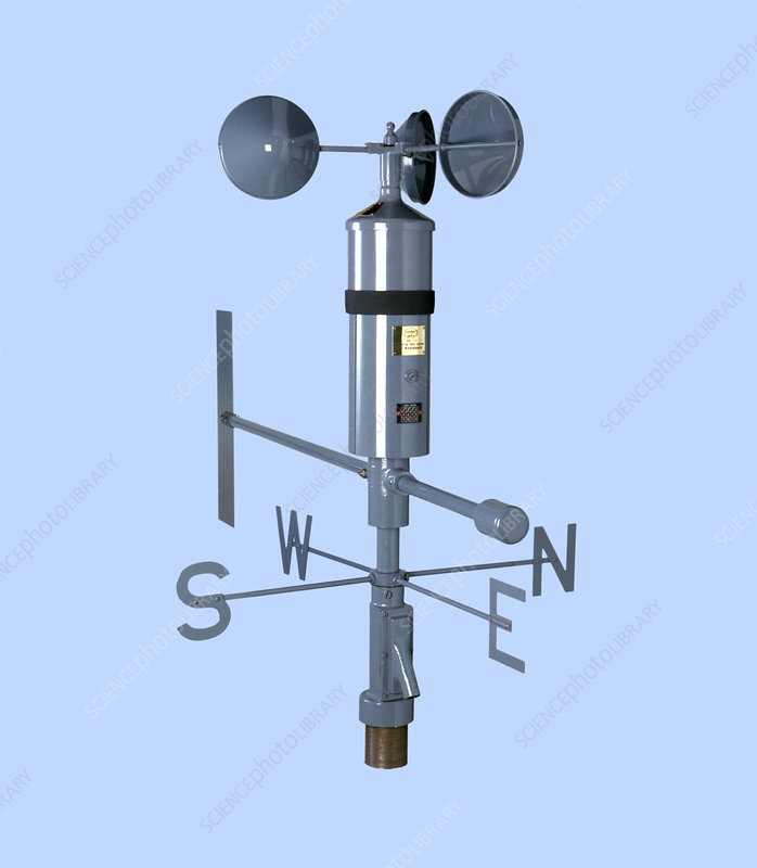 anemometer and wind vane