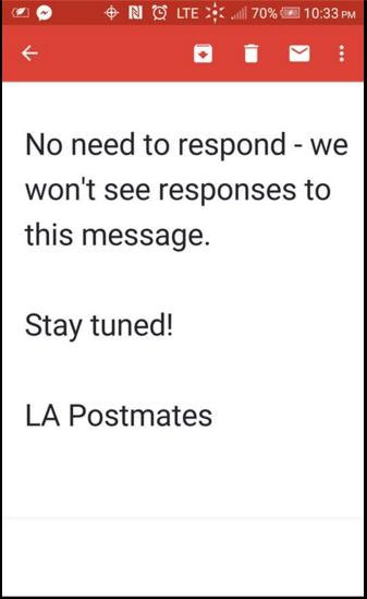 email la
