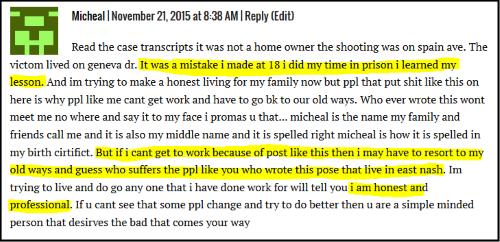 Michael reply to ENN