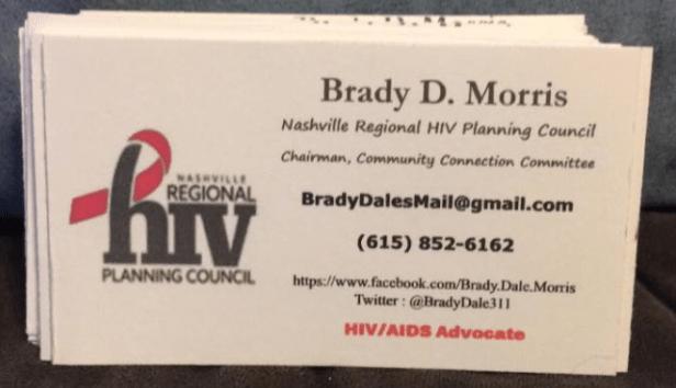 brady biz card