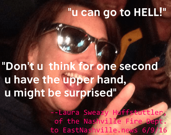 laura sweazy huffstuttler quote
