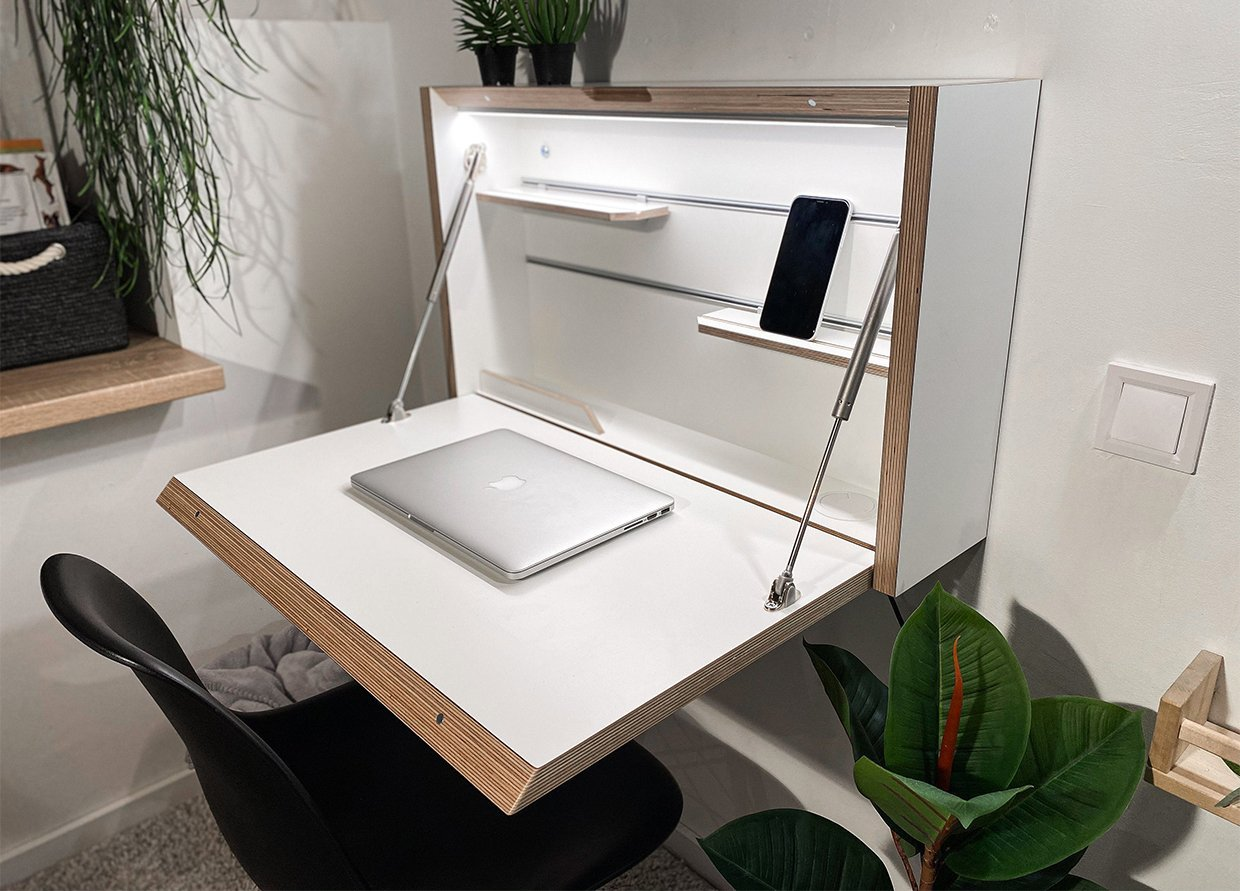 We Want This Wall Mounted Folding Desk Scout Magazine