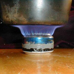 Zelfbouw brander  Scoutpedianl