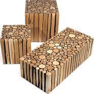 Log furniture Made Modern