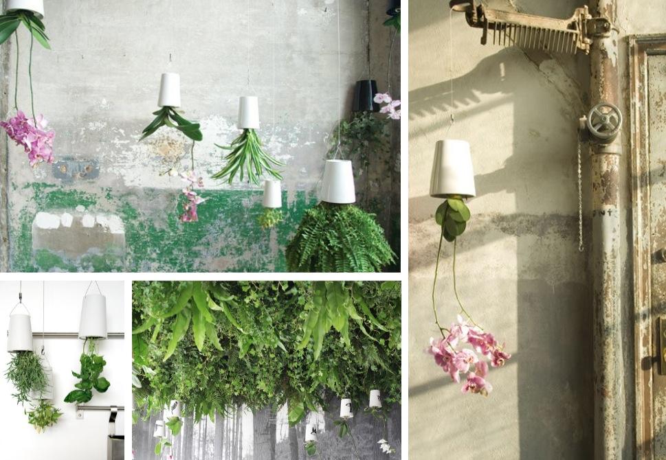 DIY Upside Down Hanging Planters Inspiration & Tutorials