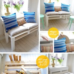 Diy Sofa From Pallets Muji Usa Bed Pallet Tutorial Easy 10 Step Guide The