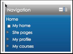 Navigation Block