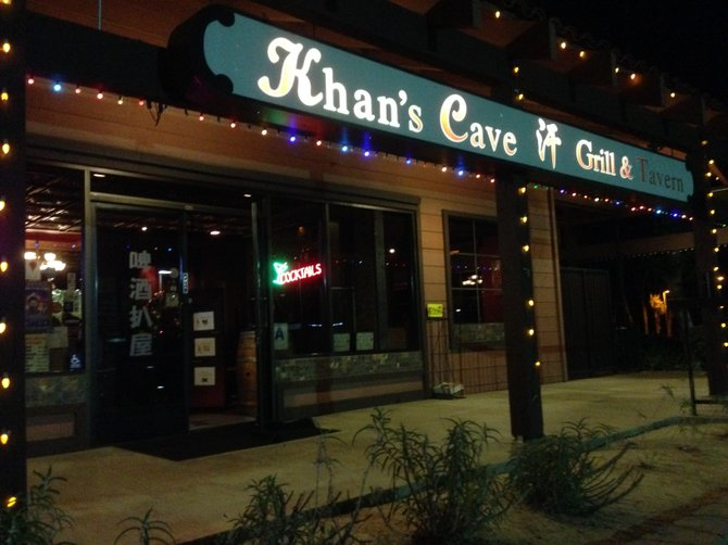 Khans Cave Grill  Tavern  San Diego Reader