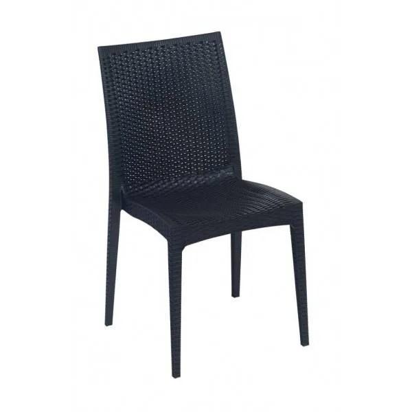 outdoor resin patio chair