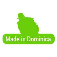 Made in Dominica button 3b