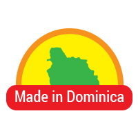 Made in Dominica button 4b
