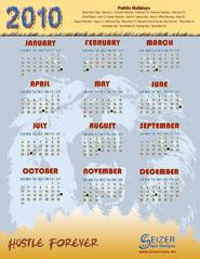 2010 Calendar A