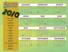 2010 Calendar C