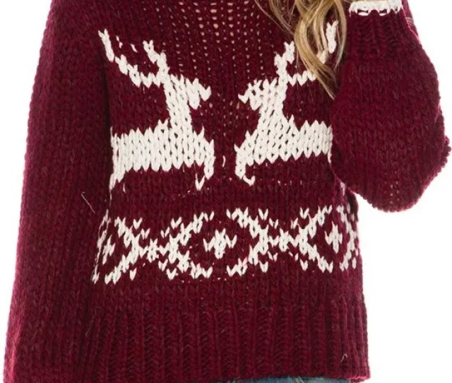 Sweaters That Are Only Socially Acceptable To Wear During The Holid Self