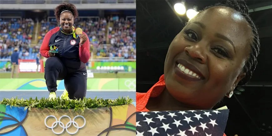 Shot Put Gold Medalist Michelle Carter Its OK To Have