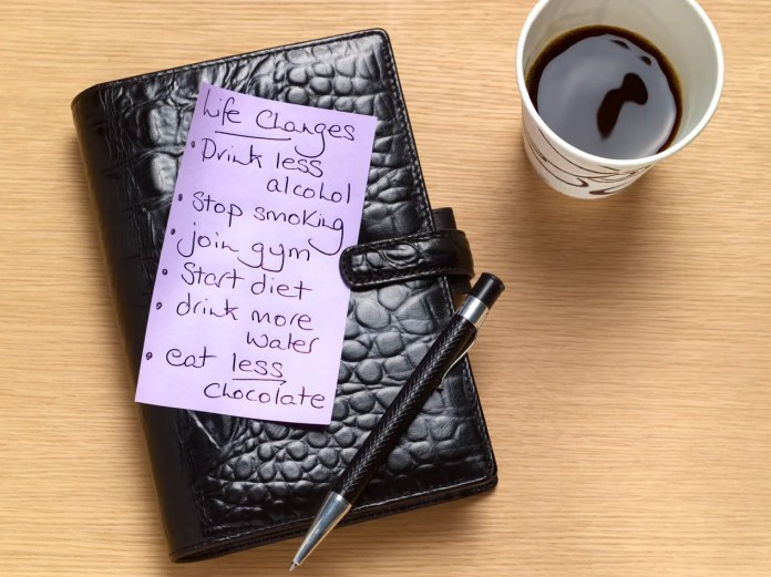 How to Make (and Keep) Your New Year's Resolutions | SELF