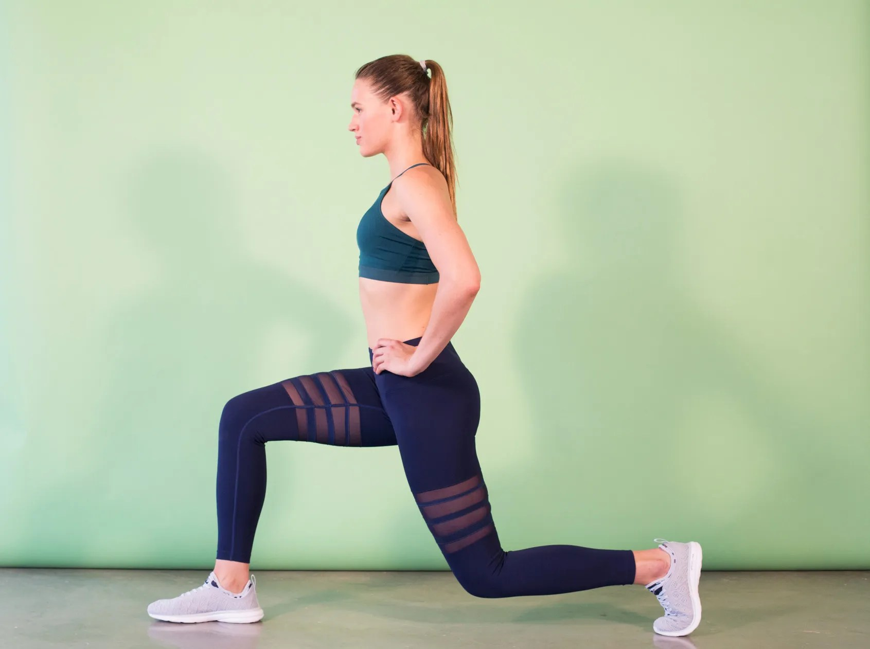 13 At Home Leg Exercises For Women That Require No Equipment Self