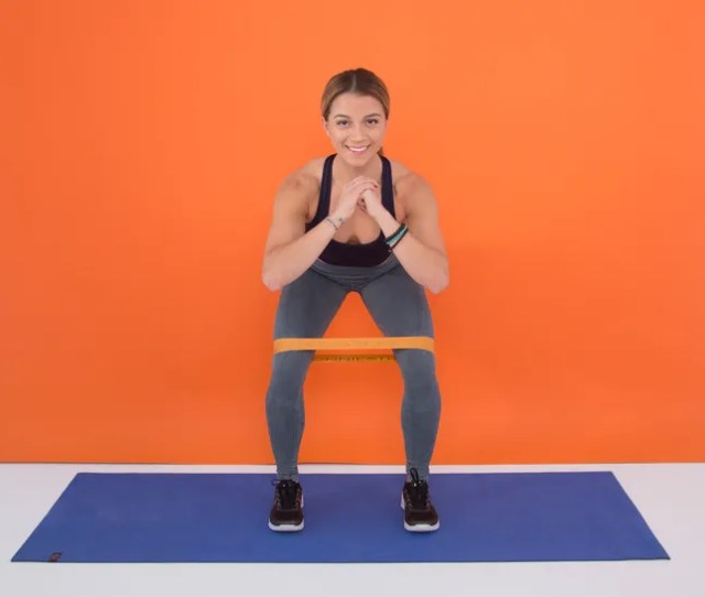 A 10 Move Resistance Band Butt Workout You Can Do Anywhere
