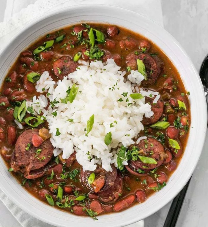 Red Beans and Sausage from Budget Bytes