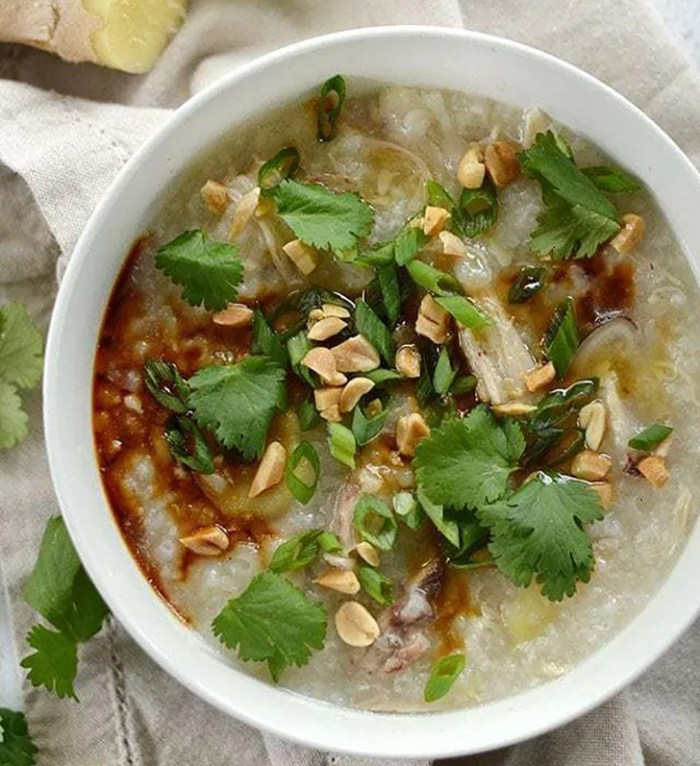 Congee from Budget Bytes
