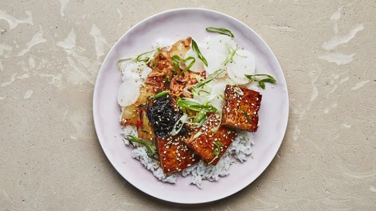 Tofu With Maple-Soy Glaze from Bon Appétit