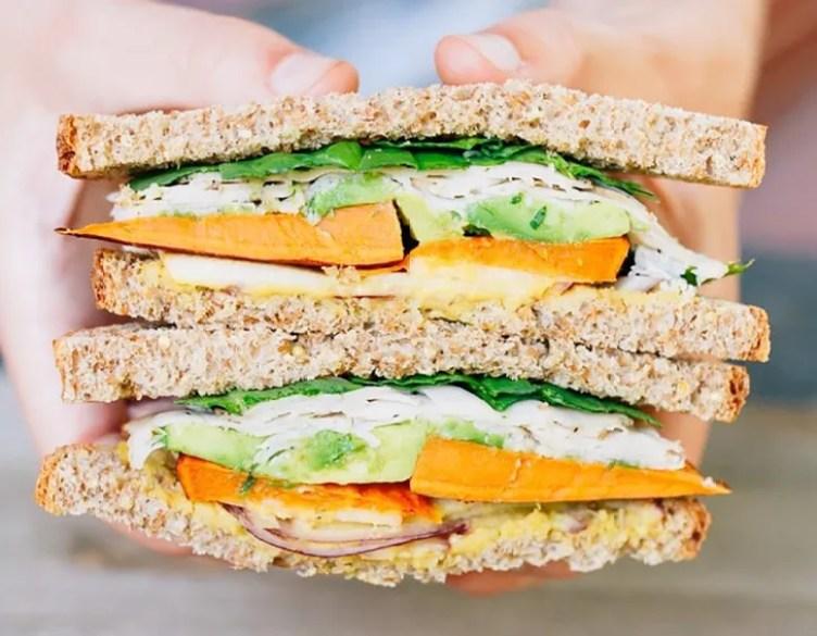Sweet Autumn Turkey Sandwich from Eating Bird Food