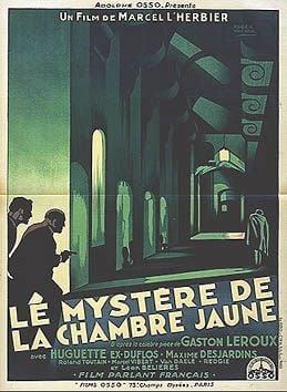 Le Mystre de la chambre jaune  Film 1930  SensCritique