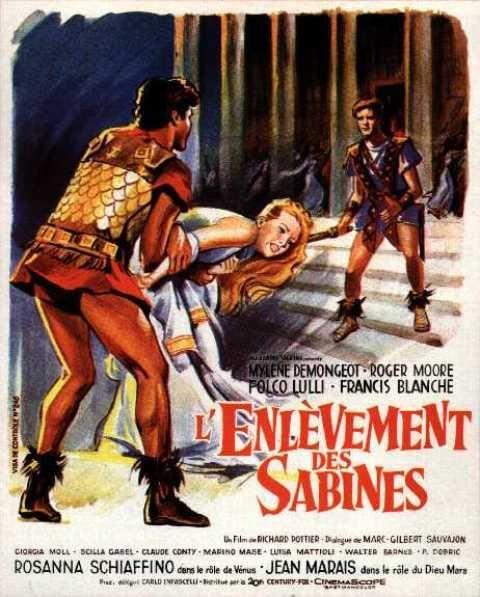 L Enlèvement Des Sabines Film : enlèvement, sabines, L'Enlèvement, Sabines, (1961), SensCritique