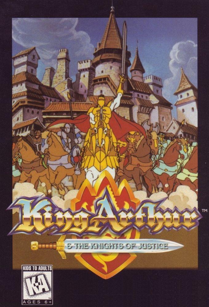 Le Roi Arthur Et Les Chevaliers De Justice : arthur, chevaliers, justice, Affiches,, Posters, Images, Arthur, Les..., (1992)