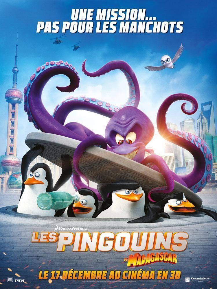 Voir film Les Pingouins de Madagascar complet sans