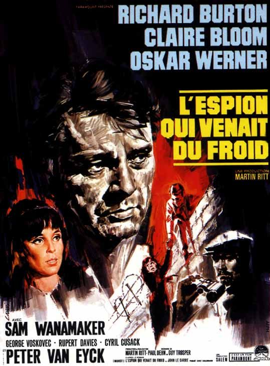 L'espion Qui Venait Du Froid : l'espion, venait, froid, L'Espion, Venait, Froid, (1965), SensCritique