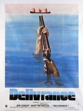 Image result for deliverance 1972 movie poster