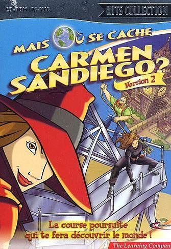 Mais Ou Se Cache Carmen Sandiego : cache, carmen, sandiego, Cache, Carmen, Sandiego, (1998), Vidéo