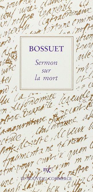 Sermon Sur La Mort Bossuet : sermon, bossuet, Sermon, Jacques-Bénigne, Bossuet, SensCritique