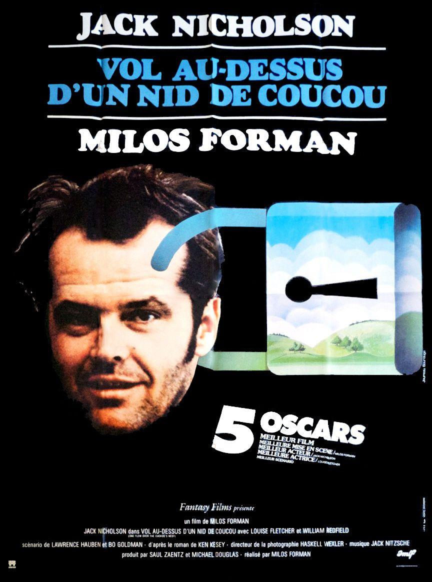 Vol Au Dessus D'un Nid De Coucou Film : dessus, coucou, Au-dessus, Coucou, (1975), SensCritique