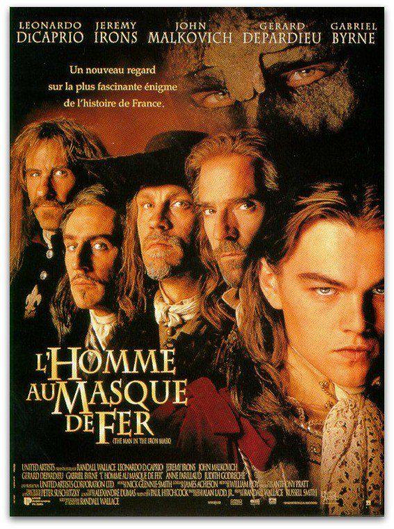 Film L'homme Au Masque De Fer : l'homme, masque, L'Homme, Masque, (1998), SensCritique