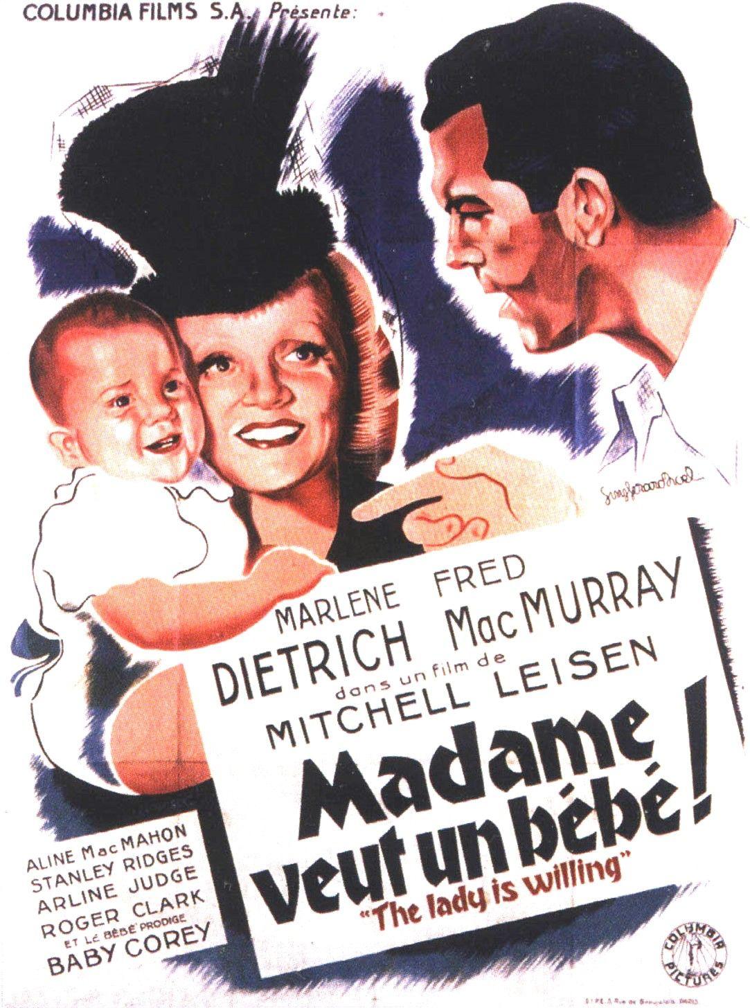 madame veut un bebe film 1942