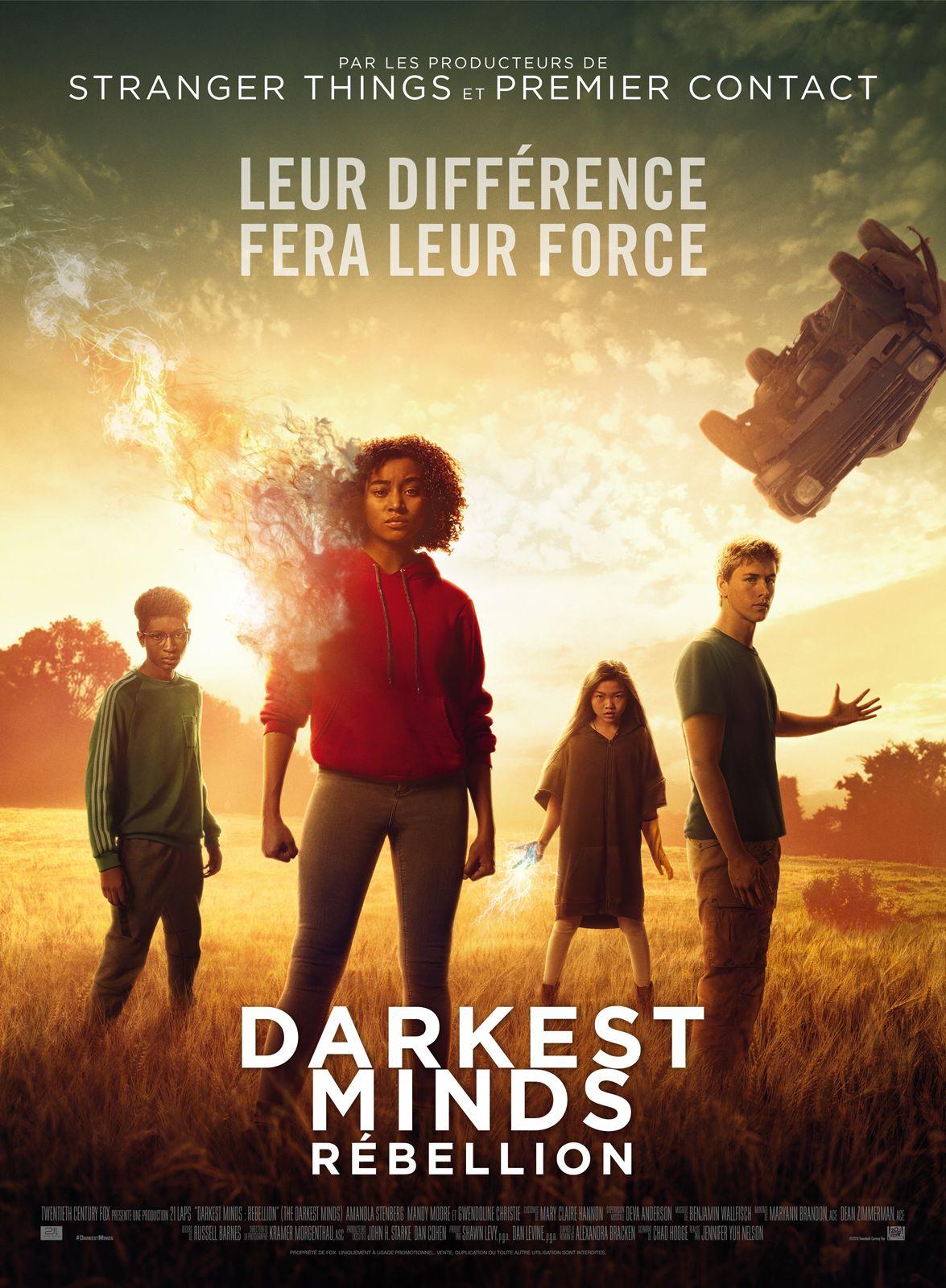 The Darkest Minds: Rébellion : darkest, minds:, rébellion, Darkest, Minds, Rébellion, (2018), SensCritique