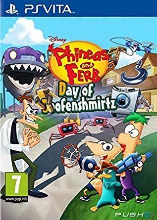 Phineas Et Ferb Le Jeu : phineas, Phinéas, Doofenshmirtz, (2015), Vidéo