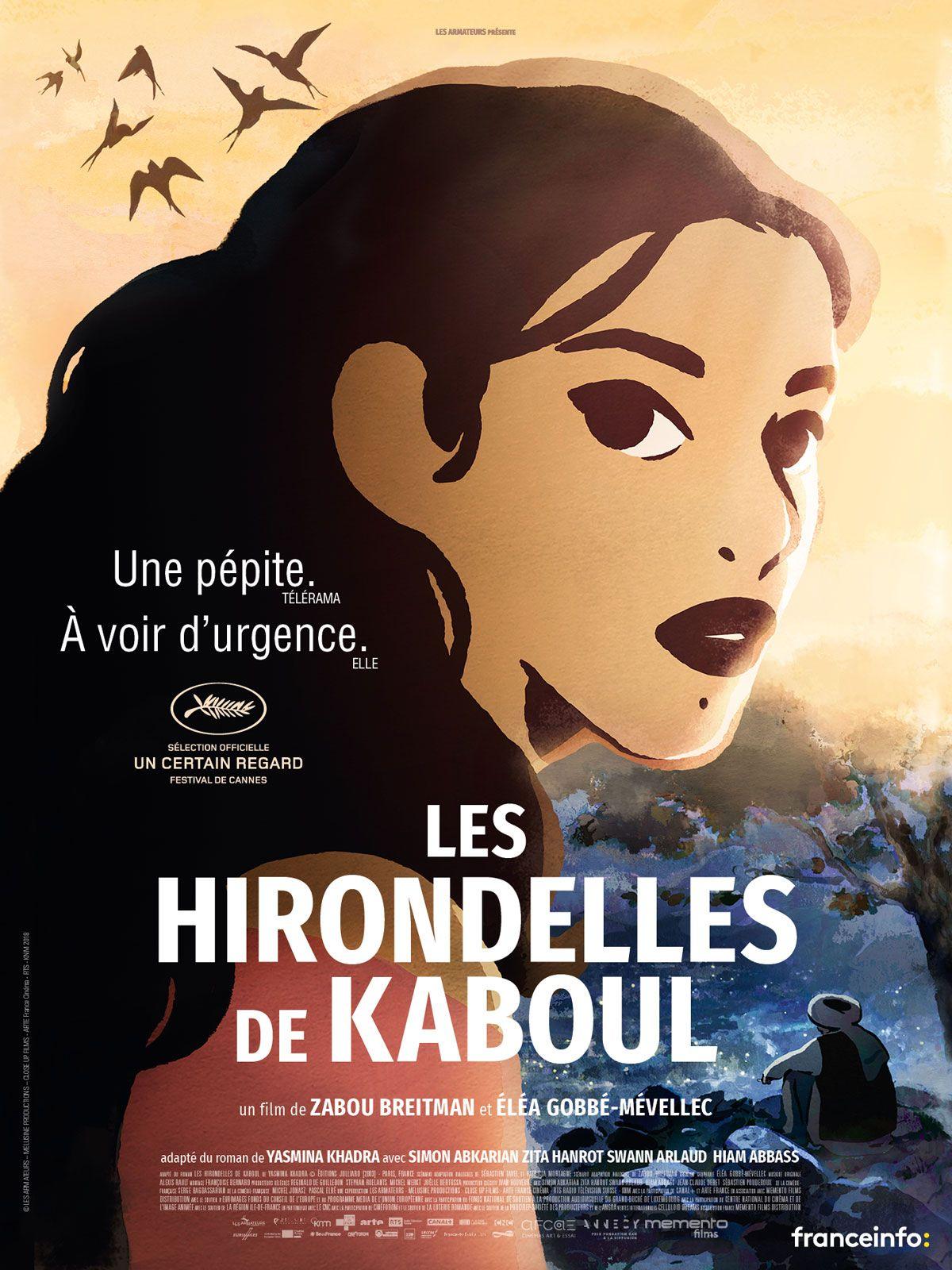 Les hirondelles de Kaboul de Zabou Breitman, Eléa Gobbé