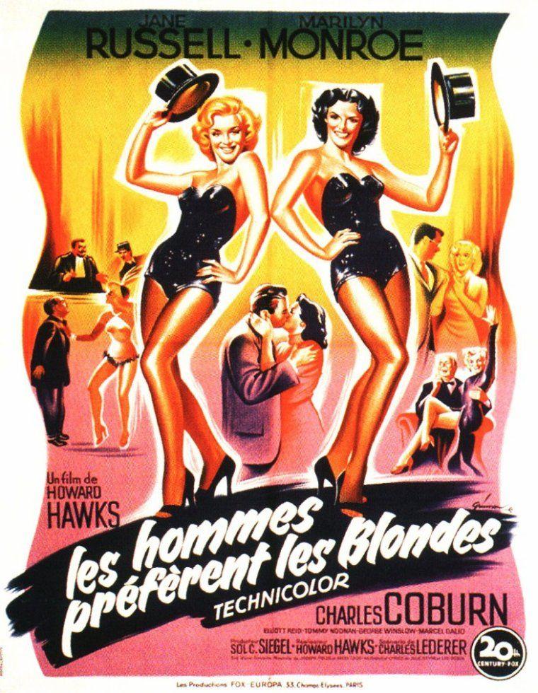 Les Hommes Préfèrent Les Blondes : hommes, préfèrent, blondes, Hommes, Préfèrent, Blondes, (1953), SensCritique