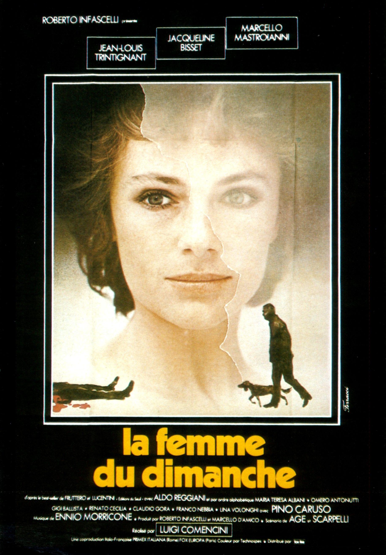 LA FEMME DU DIMANCHE Photo de film - 21x30 cm. - 1975