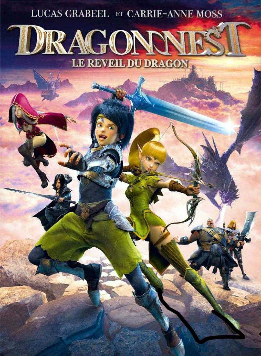Dragon Nest Le Trone Des Elfes Vf : dragon, trone, elfes, Dragon, Réveil, Long-métrage, D'animation, (2014)