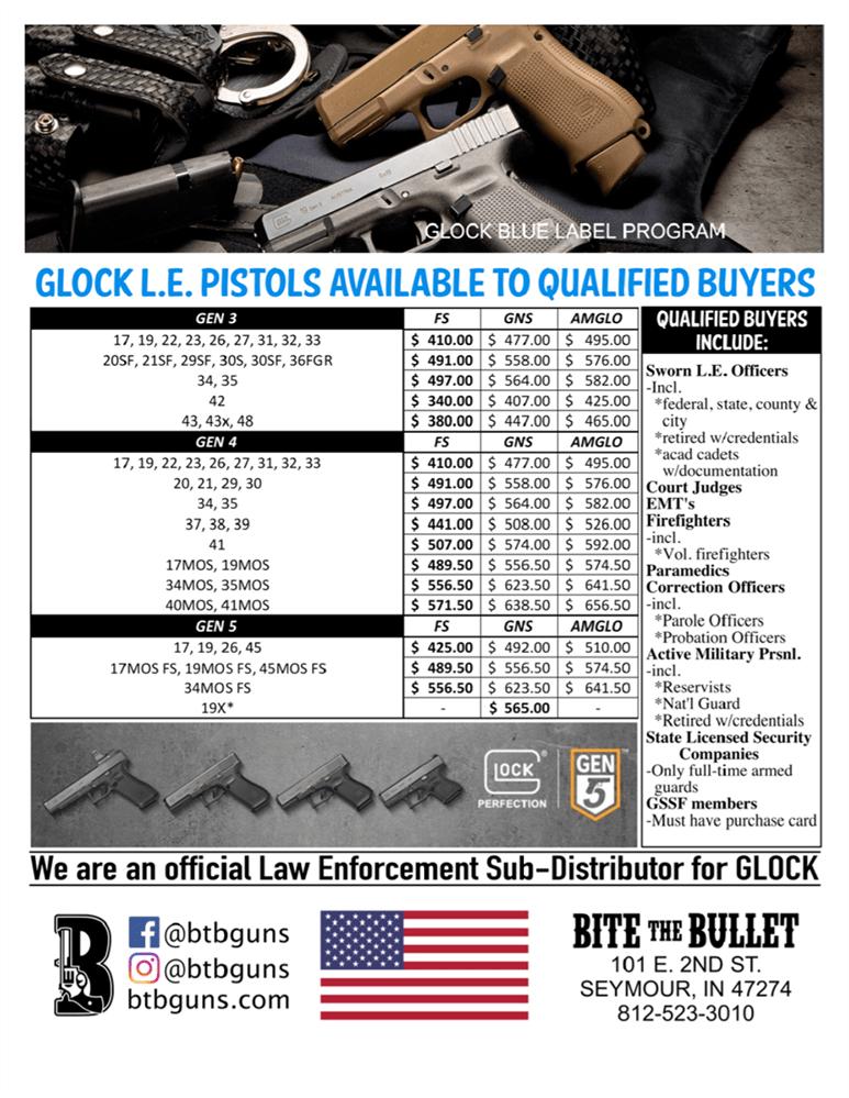 Glock 42 Blue Label : glock, label, Glock, Label, Labels, Database